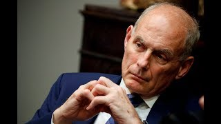 Trump's chief of staff John Kelly leaving White House