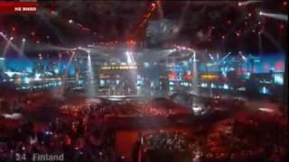 Eurovision 2009 - Finland - Waldo's People - Lose Control
