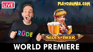 🔴 LIVE World Premiere of SLOTS OF BEER on PlayChumba.com #ad