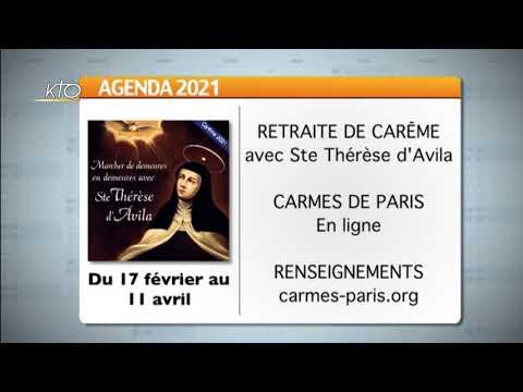 Agenda du 12 février 2021