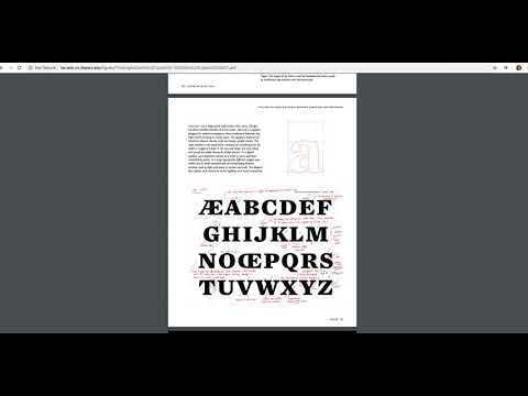 Typeface Design Assignment