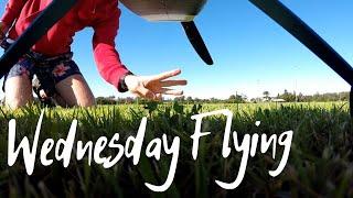 This RC plane can hammerhead like a hero! | Aerial FPV footage [FMS SuperEZ]