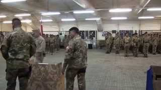 Royal Tongan Marines  Change of Guard/Sipi Tau/ Singing Hymn