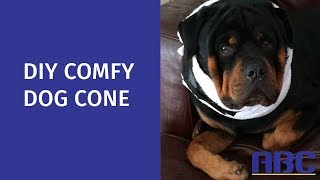 DIY Comfy Dog Cone | How to Make a Homemade Dog Cone Alternative