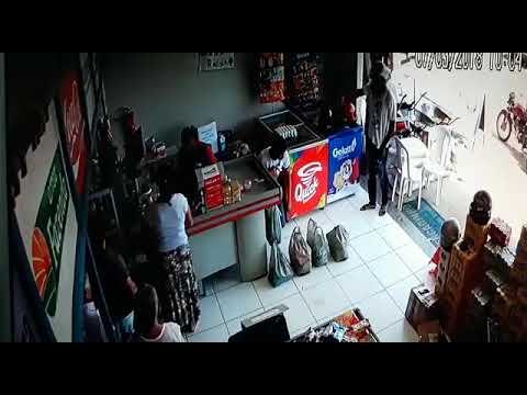 Assalto e tiros no supermercado em Barão de Grajaú-Maranhão