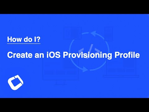 Create An iOS Provisioning Profile