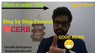 CERB | Step by Step Process with CRA | International Students | How you can Apply  | April 6 |