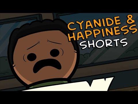 Vzkaz - Cyanide & Happiness