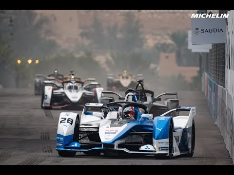 Highlights AdDiriyahEPrix  - 2018/2019 FIA Formula E  - Michelin Motorsport