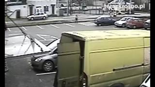 O krok od tragedii na przejściu dla pieszych w Krośnie