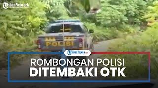 Detik-detik Mobil Rombongan Kapolres dan Brimob di Papua Tiga Kali Ditembaki OTK