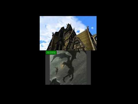 Skyrim for Nintendo 3DS [Unity Project]