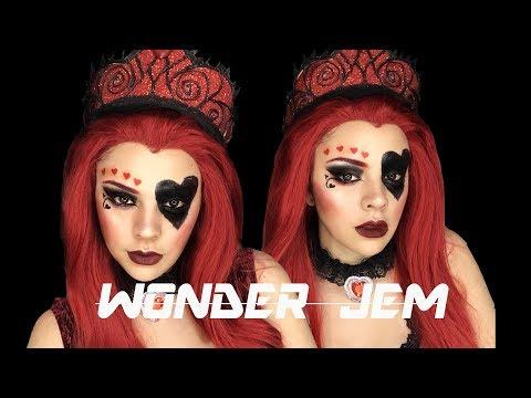 REINA DE CORAZONES / THE WONDER JEM / MAKEUP & CORONA