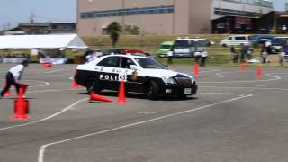Tokyo Metropolitan Police Department Motorcycle police safe driving competition tournament