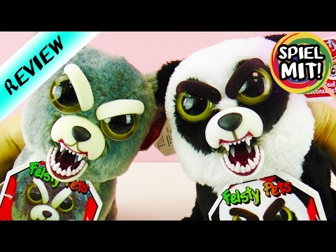 HORROR STOFFTIERE - FEISTY PETS Panda VS Wolf | Wer macht mehr Angst?