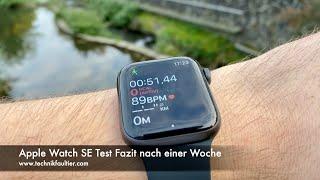 Apple Watch SE Test Fazit nach einer Woche