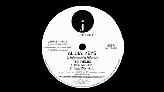 Alicia Keys ~ A Woman's Worth 2002 Disco Purrfection Version
