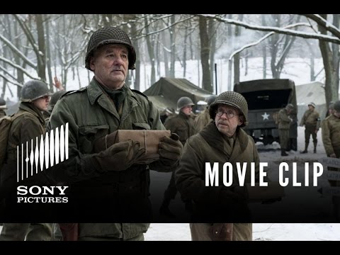 The Monuments Men Clip 'John Wayne'