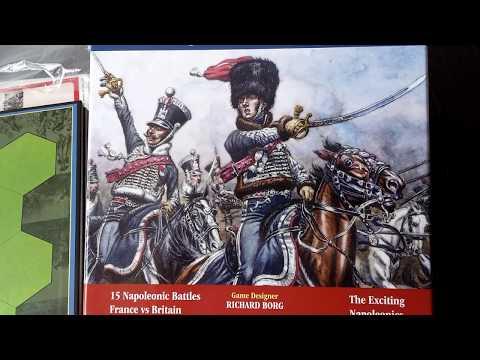Commands & Colors: Napoleonics - unboxing (3rd printing)