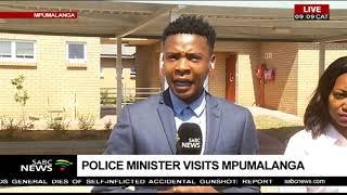 Police Minister visits Mpumalanga