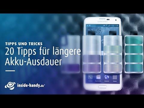 Akku schnell leer? Top 20 Tipps um Akkulaufzeit bei Android zu verlängern