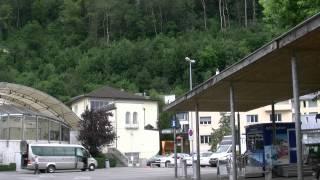 preview picture of video 'アキーラさん散策④リヒテンシュタイン・ファドゥーツ市街・Information-center,Vaduz,Liechtenstein'