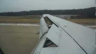 preview picture of video 'Airbus A320 approach and landing at Pittsburgh International Airport'