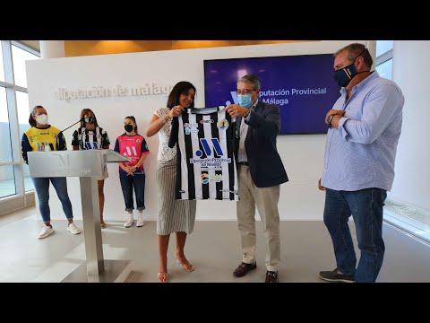 Presentación del patrocinio de la Diputación de Málaga al Club Balonmano Femenino Málaga Costa del Sol