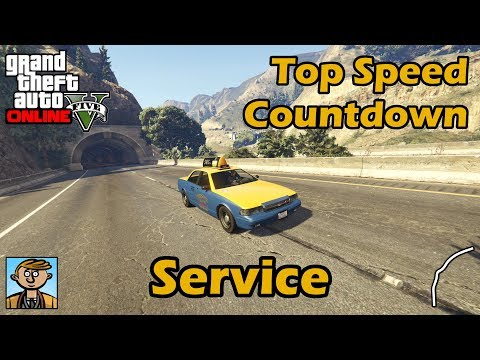 Fastest Service Vehicles (2018) - GTA 5 Best Fully Upgraded Cars Top Speed Countdown