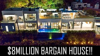 $8MILLION BARGAIN HOLLYWOOD MANSION!