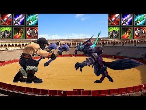 最大吸血 歐拉夫 vs 最大吸血 沃維克 猜誰會贏?!