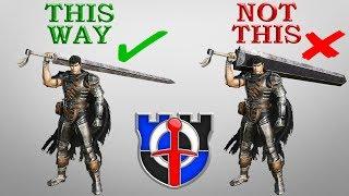 Can GIANT SWORDS be practical in combat?