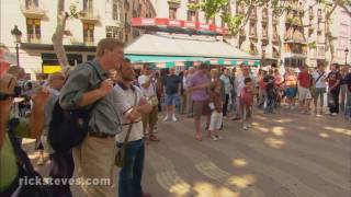 preview picture of video 'Barcelona, Spain: A Trip Down the Ramblas'
