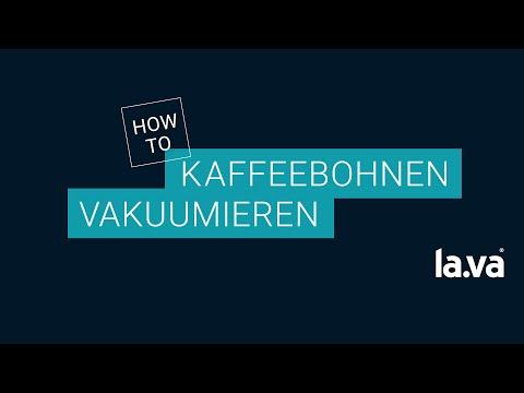 Vakuumverpackung von Kaffee - Mit Lava