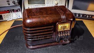 Electronic Restoration Adventure-The Belmont 636 Radio Receiver!