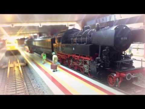 CHIGORYTREN - Beniflá Train Vídeo nº 9 - Decoración Andenes 2