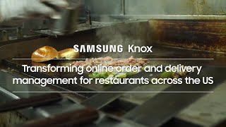 Knox: Helping transform online ordering and delivery for restaurants across the US | Samsung thumbnail