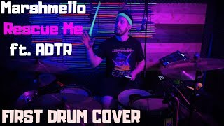 Marshmello   Rescue Me Ft. A Day To Remember | Drum Cover
