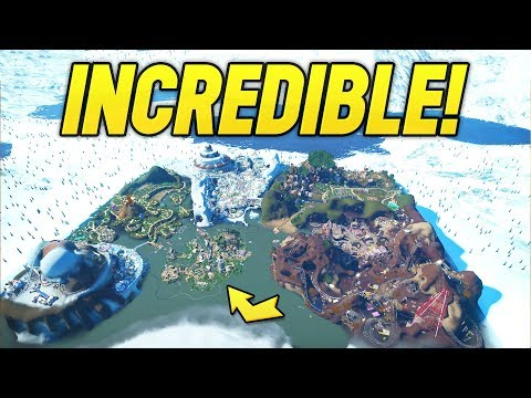 I discovered the most impressive planet coaster map..