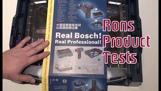 Bosch Professional GSR 10,8-2-LI Akku Bohrschrauber Unboxing Deutsch Test Akkuschrauber Bohrmaschine