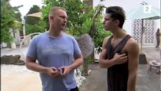 Eric Saade and Tone Damli-Ibiza, Imagine offical video forgatása