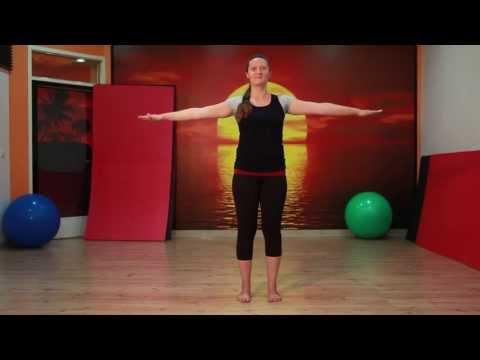 Gymnastik für den Hals shishonina Hypertonie