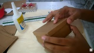 DIY CAIXINHA DE PAPEL CRAFT FACIL Part 1