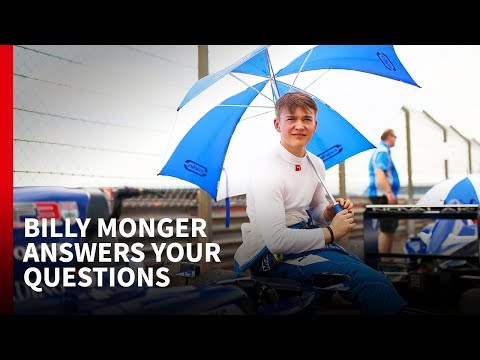 Billy Monger Q&A with Autosport