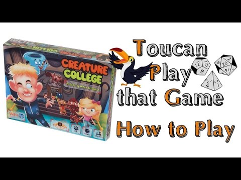 Creature College - How to play