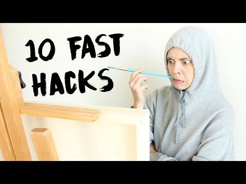10 Tips to Immediately Improve Art