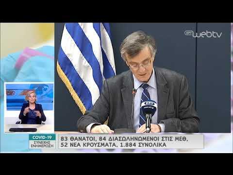 Σ. Τσιόδρας: «Εμμένουμε στην εφαρμογή ατομικών μέτρων προστασίας»   08/04/2020   ΕΡΤ