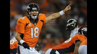 Peyton Manning Embarrasses The Defending Super Bowl Champions With 7 TDs   NFL Flashback Highlights