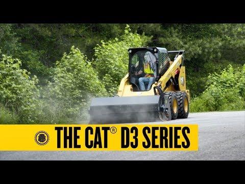 סרטון על יעה אופני caterpillar - טרקטורים וציוד I.T.E