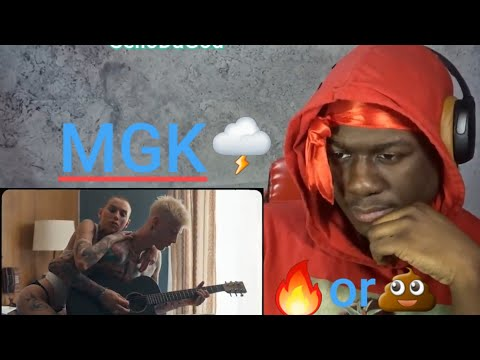 MGK I Think Im Okay Ft Yung Blud & Travis Barker Reaction